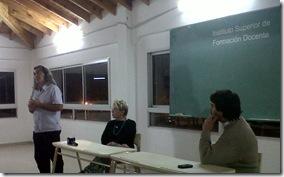 Pablo Llonto brindó charla sobre Dictadura y Medios de Comunicación