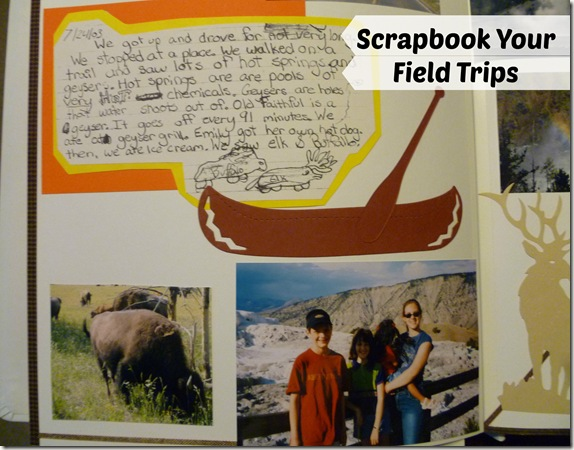 Scrapbook Your Field Trips