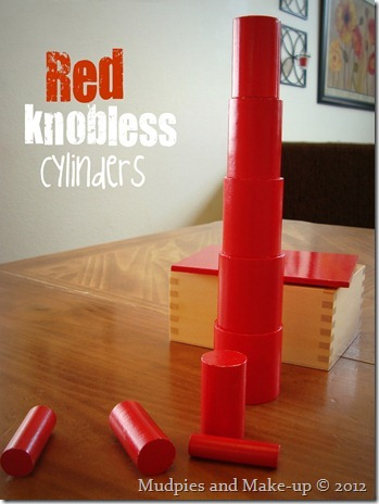 Red Knobless Cylinders