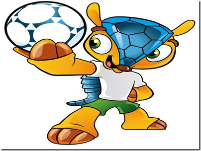 Fuleco, the Brazil 2014 mascot