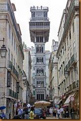Lisbon, S justa elevador