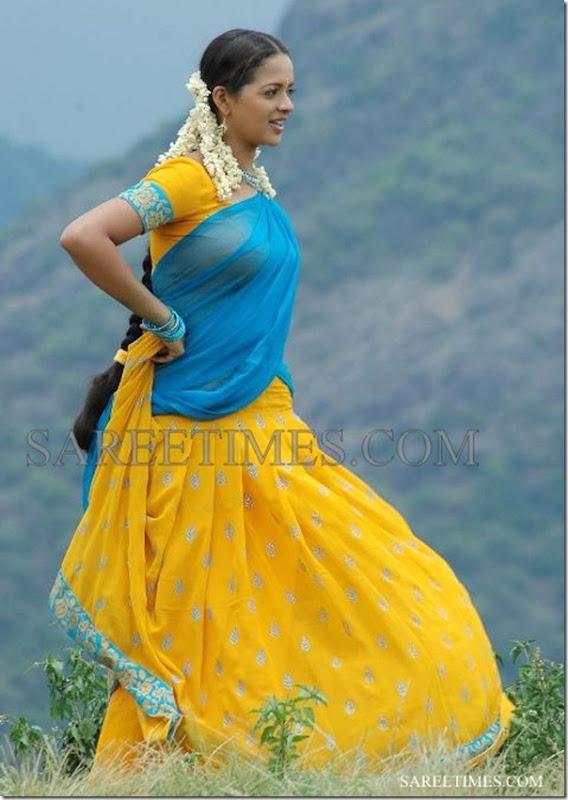 Bhavana_Half_Saree