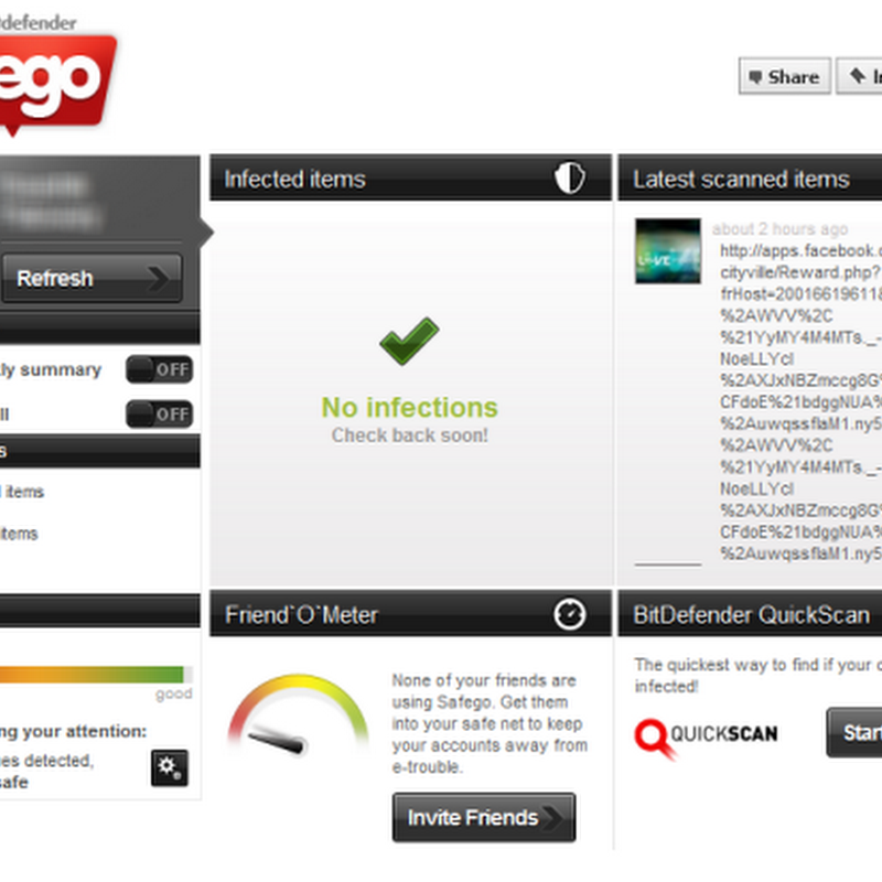 BitDefender Safego Protects You From Facebook Phishing Scams