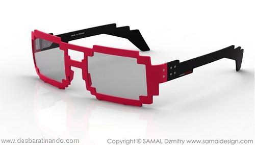 oculos geek nerd pixel 8 bits Dzmitry Samal 6dpi 5dpi desbaratinando (6)