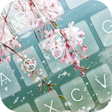 Sakura Falling Keyboard Theme