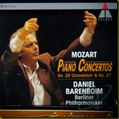 Mozart 27 Barenboim Berlin