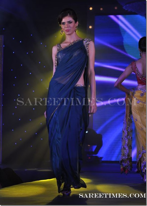 Blue_Designer_Saree_Gitanjali_Fashion_Week