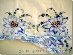 Embroidered Water Lilies
