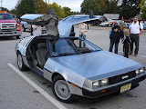 The guy who owns this Delorian lives a few blocks away from me. He brought it out for the Havertown Day parade