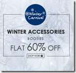 Fashionandyou: Get flat 60% off on Winter Accessories by Booties
