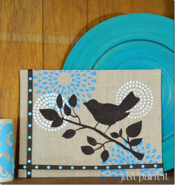 stenciled-burlap-art