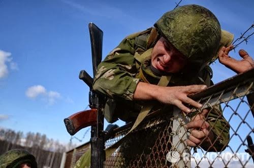Соревнования спецназа в Сибири