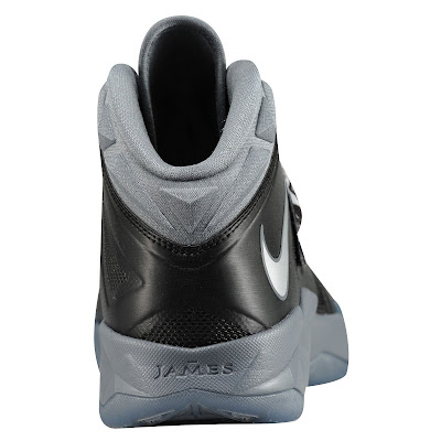 nike zoom soldier 7 gr black grey 1 02 eastbay LEBRONs Nike Zoom Soldier VII $135 Pack Available at Eastbay