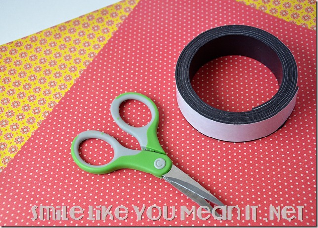Supplies-For-Washi-Tape-Magnets