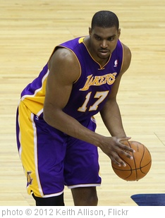 'Andrew Bynum' photo (c) 2012, Keith Allison - license: http://creativecommons.org/licenses/by-sa/2.0/