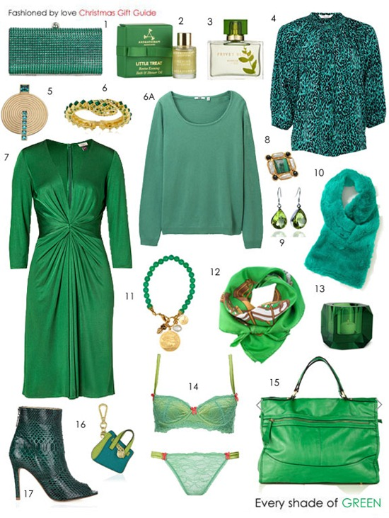 Julie Ordon in Grand designs / Marie Claire UK December 2011 (photography: Frederic Pinet, styling: Jayne Pickering) via fashioned by love british fashion blog / gift guide / shopping list in emerald green