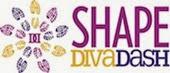 SHAPE Diva Dash logo Horiz