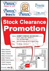 Pureen Stock Warehouse Sale Clearance Promotion 2013 Discounts Offer Shopping EverydayOnSales