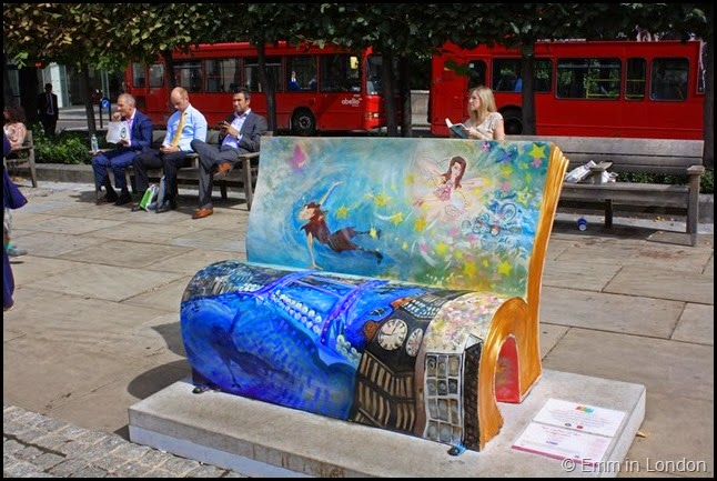 Peter Pan book bench