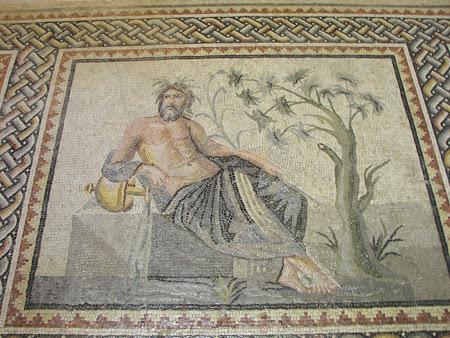 zeul Eufratului, mozaic in muzeu Antep Anatolia
