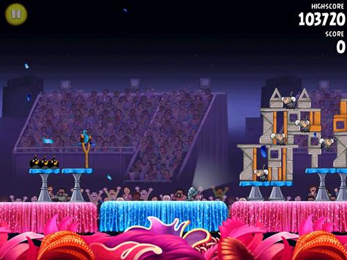 Angry Birds Rio HDの画面