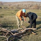 Девушки! готовят дрова<br /> Devushki! закончил Дрова