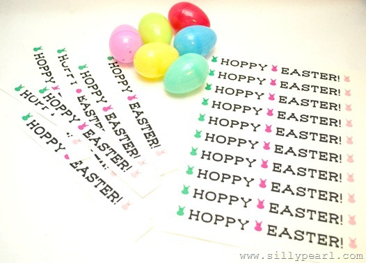 Message In An Easter Egg Printable