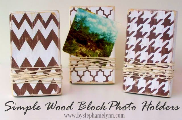 wooden block frames tutorial