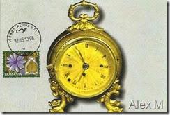 Ceas de voiaj cu sonerie, sec. XIX; SZ Ploieşti 1 17.05.2013 < Carriage clock, 19th century with Ploieşti stampmark 17.05.2013
