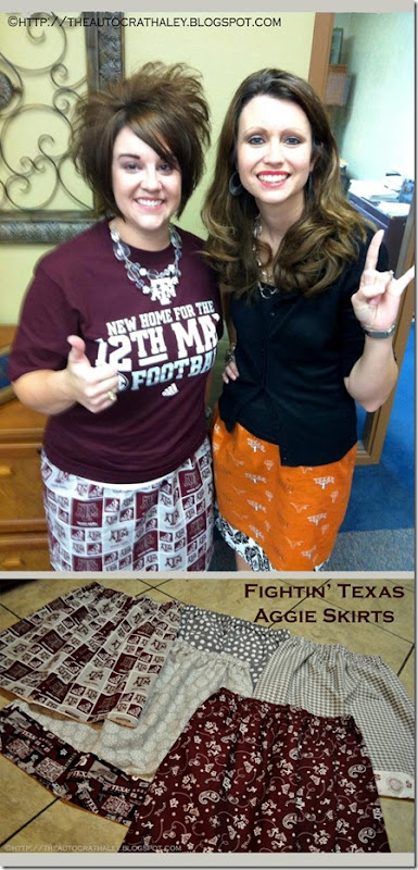 AGGIE SKIRTS