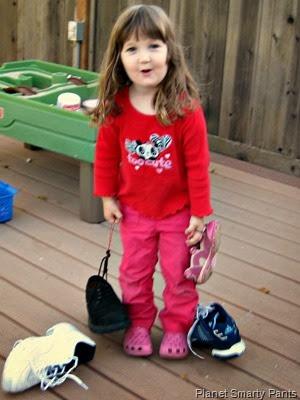 Shoe Experiment