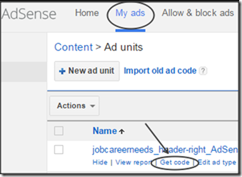 get-adcode-inside-adsense-account