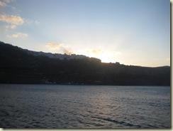 Sunrise over Santorini and Fira (Small)