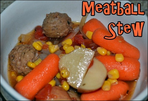hearty slow-cooker meatball stew
