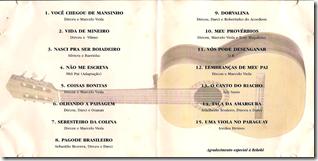 Dirceu e Marcelo Viola 1998 Contra Capa