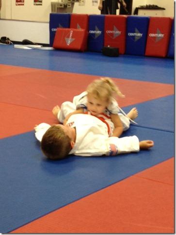 reese starts karate 2