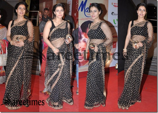 Kajol_Saree