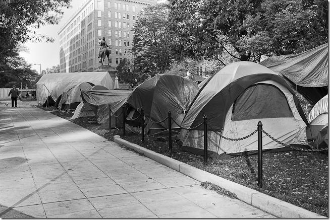 McPherson Square Tent Camp
