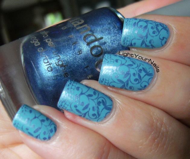 QA89 blue stamping