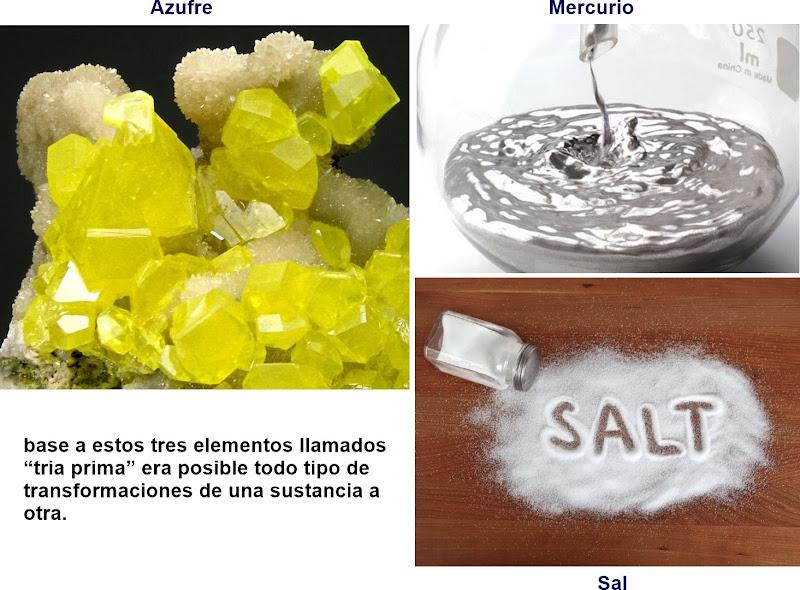 Tia Prima - azufre, mercurio y sal