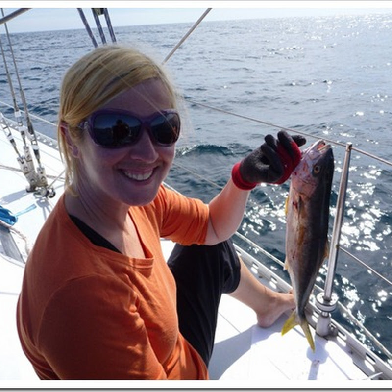 Before and After: Fishing for dinner