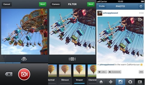Cómo grabar videos en Instagram