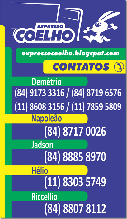 banner Expresso Coelho contatos wcinco