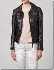 Gypsy dark brown leather jacket