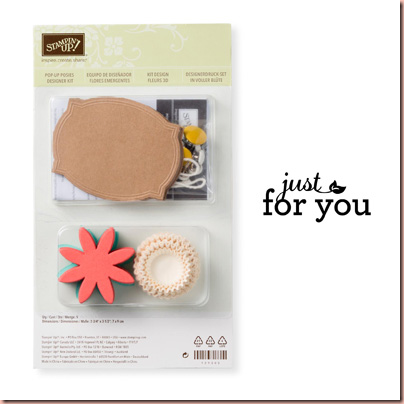 pop up posies kit