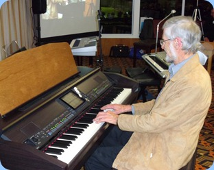 "Errol Storey did a one-piece cameo for us on the Clavinova playing ""Ballade Pour Adeline"""