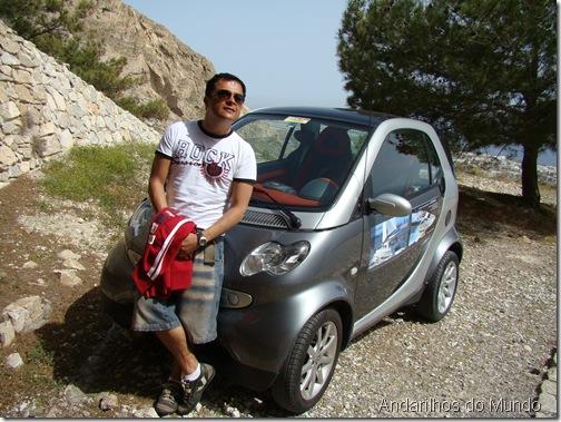 Carro Alugado em Santorini - Smart