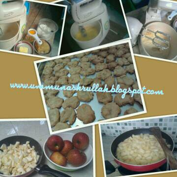 ... menyenangkan apalagi mpasi cookies apel biskuit apel ini dibuat dengan