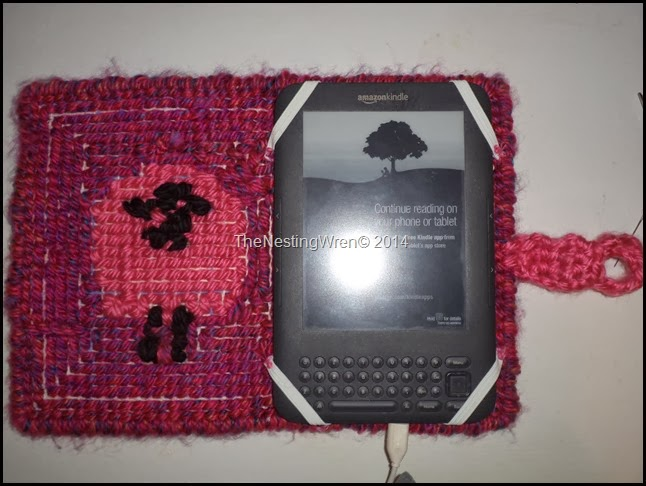 locker hooking kindle cover