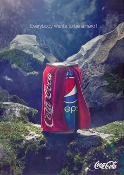 Creatividad publicitaria coca